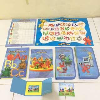 English Time Learning (ETL) Musical Children Books
