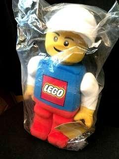 Lego Figurine Plush Soft Toy Man