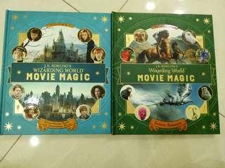 🚚 (hardback) J. K. Rowling's wizarding world movie magic