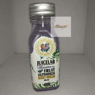 Juice Lab mixedberry fruit ultrarich body wash