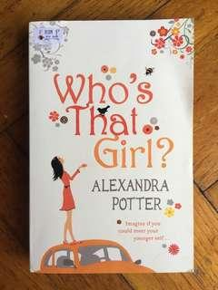 Preloved English Novel - Who's That Girl? By Alexandra Potter