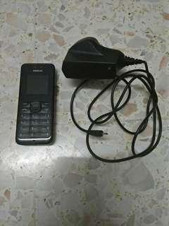 [FREE POSTAGE] Nokia 105 With Charger #50TXT