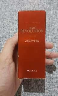 Missha time revolution vitality oil