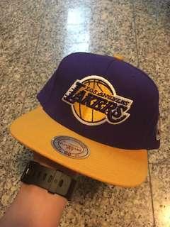Mitchell & Ness Los Angeles Lakers Basketball NBA Snapback Cap Hat