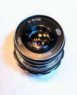 Vintage russian manual lens