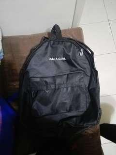 I am girl backpack