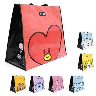 🚚 BT21 Nara Home Deco Tarpaulin Carrier Bags (New Arrival, All designs instock)