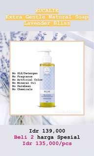 Eucalie Extra Gentle Natural Soap Lavender Bliss