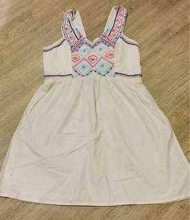 American Eagle Outfitters linen dress