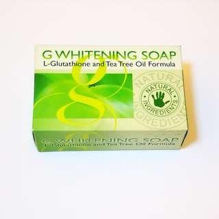 🆕 G Whitening Soap L-Glutathione with Tea Tree Oil Formula - 100g