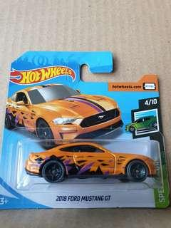 🚚 Hot Wheels 2018 Ford Mustang GT