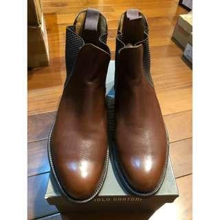LOAKE SHOEMAKER 290T BROWN CHELSEA BOOTS UK 7.5 雀爾喜 靴子 咖啡色
