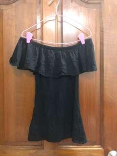 Cotton on Black Off Shoulder Top