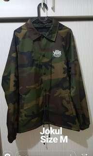 Vans Torrey Coach Jacket Army