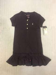 🚚 Ralph Lauren 女童polo衫洋裝