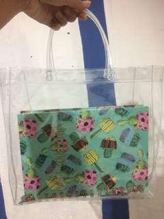 transparant bag
