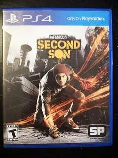 PS4 Used Game Infamous Second Son