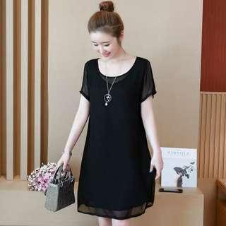 🚚 [XL - 5XL] Plus Size Korean Dress