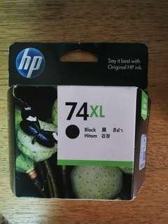 墨盒 hp74XL new expired July 2012 Black