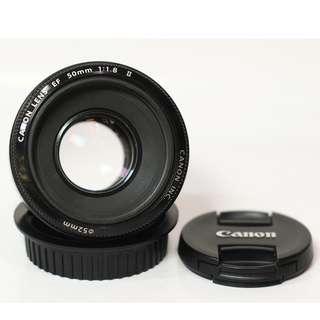 Canon EF 50mm F 1.8 IS II No Box