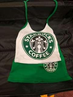 Starbucks halter