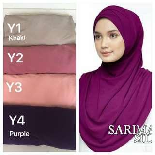 🚚 Instant Tudung moscrepe