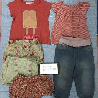 Baby Girl 6 pc cute clothing