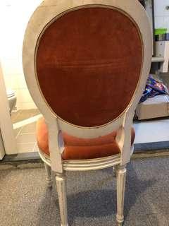 懷舊古董歐洲宮廷椅