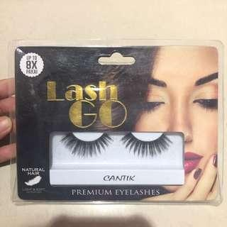 "Lash go premium eyelashes ""cantik"""