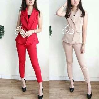 sandy set ( blazer + pants )