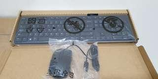 DELL KB216 WIRED KEYBOARD WITH MOUSE