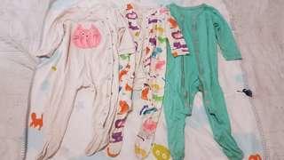 Baby sleepsuit / pyjamas UK brand - NEXT