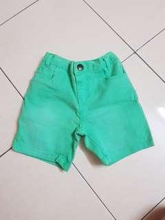 🆕️Mothercare Green Short Pants