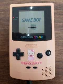 Gameby30週年 Hello kitty gameboy color