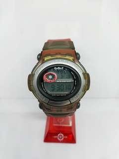 GSHOCK GCOOL GT-003 BPM COUNTER (SUPER RARE) BNB RED JELLY PELANGI