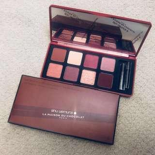 (限量) Shu Uemura x La Madison Du Chocolate   Ganache & Praliné Eyeshadow Palette (in Framboise Berry)