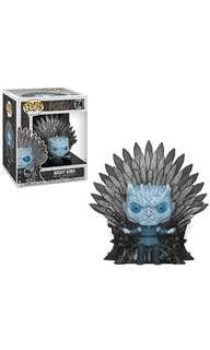 PO: Funko Pop Deluxe: Game of Thrones - Night King Sitting on Throne