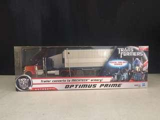 Transformers Optimus Prime with Trailer
