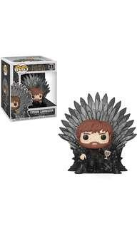 PO: Funko Pop Deluxe: Game of Thrones - Tyrion Lannister Sitting on Throne