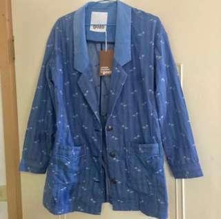 🚚 Gozo薄款西裝外套(含運)#半價衣服市集
