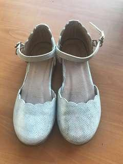 Meet My Feet Silver Shoes