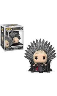 PO: PO: Funko Pop Deluxe: Game of Thrones - Daenerys Targayen Sitting on Throne