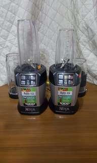 Nutri Ninja With Auto-Iq Nutrient Extractors & Smoothie Blenders