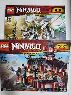 70679 and 70670 Lego Ninjago
