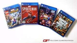 PS4 GAMES TERBAIK PUTRAJAYA