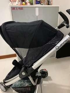 🚚 Quinny Xtra zapp Stroller with Free Car Seat