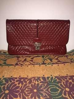 Tod's Clutch Red