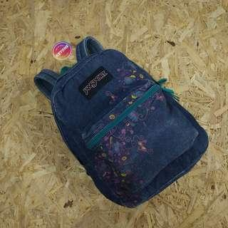 Jansport Super FX Wash Denim Blue Backpack Original
