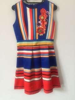 Full Color Dress