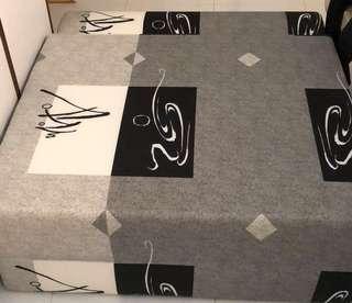 Grey Foldable Mattress